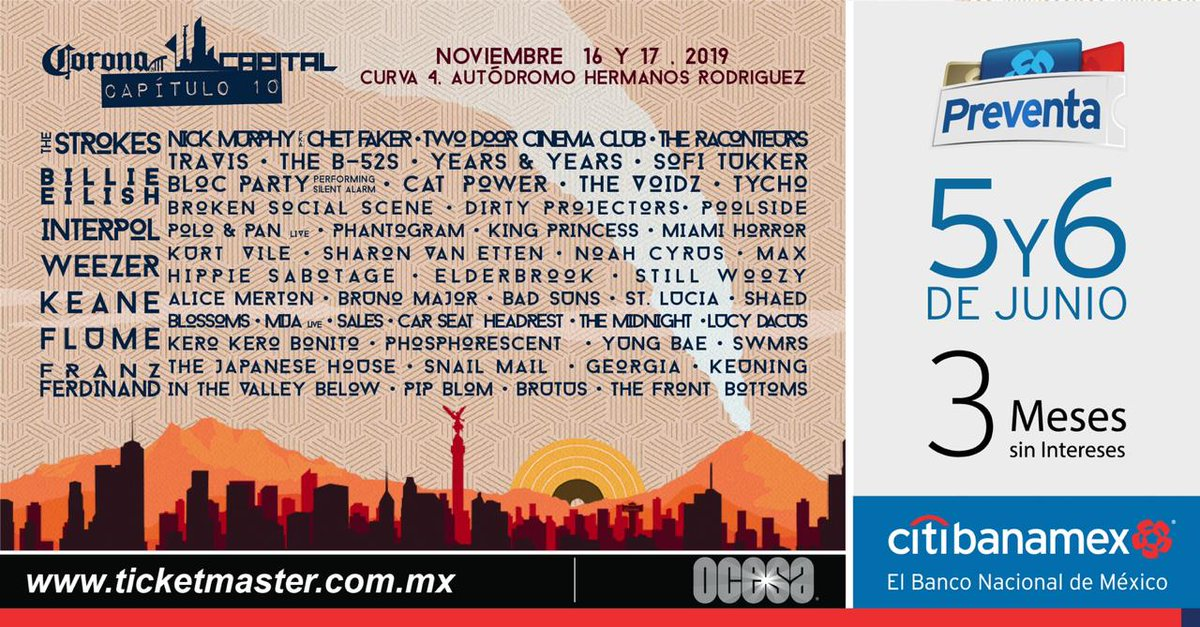 corona capital  lineup revealed  news consequence  sound