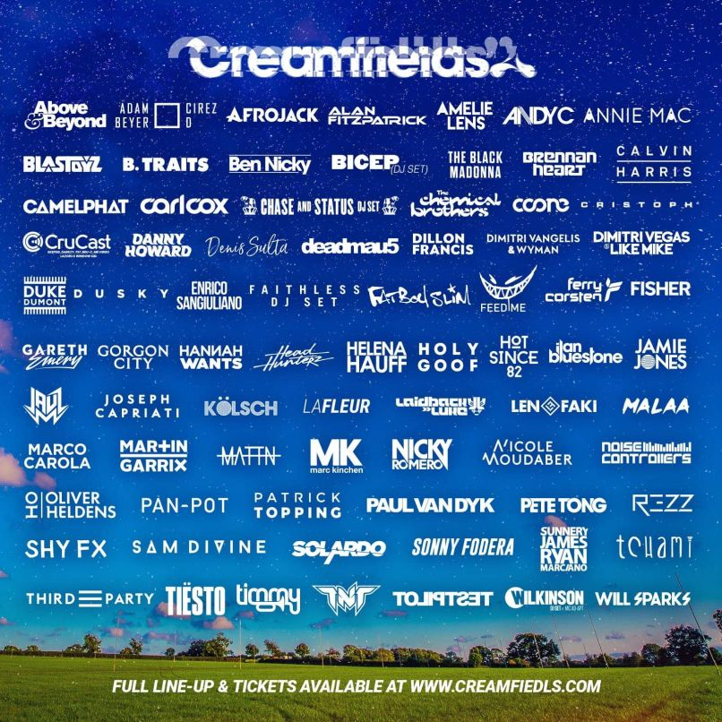 Creamfields The 10 Hottest European Music Festivals to Check Out This Summer