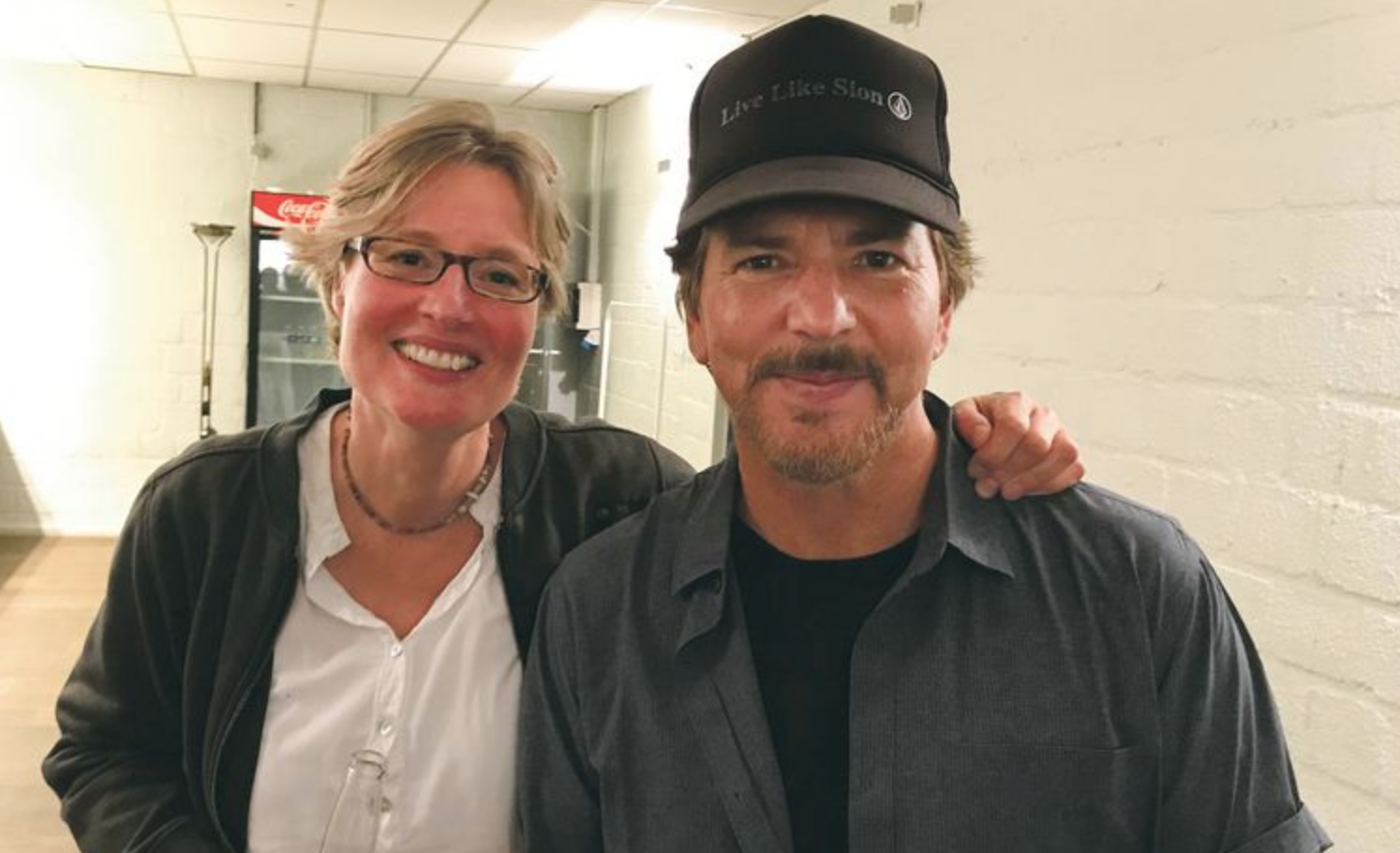 Eddie Vedder had his own Before Sunrise moment in Utrecht, reunites with woman 27 years later