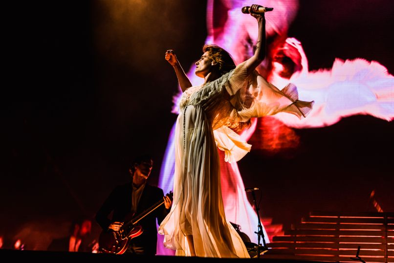 Florence and the Machine Governors Ball 2019 Ben Kaye-4