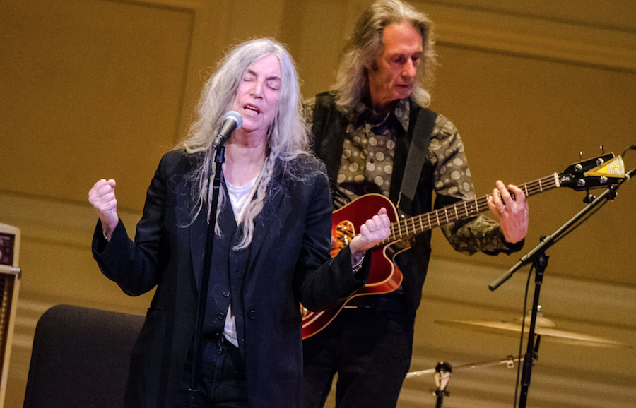Friedberg Origins Go Wild Patti Smith Ben Kaye