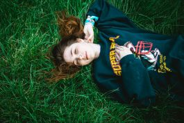 Clairo, photo by Julia Drummond Governors Ball 2019