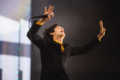 The 1975, photo by Julia Drummond Governors Ball 2019