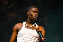 Sheck Wes, photo by Julia Drummond governors ball 2019