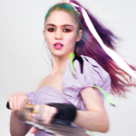 Grimes, photo by Eli Russell Linnetz album done mixing update