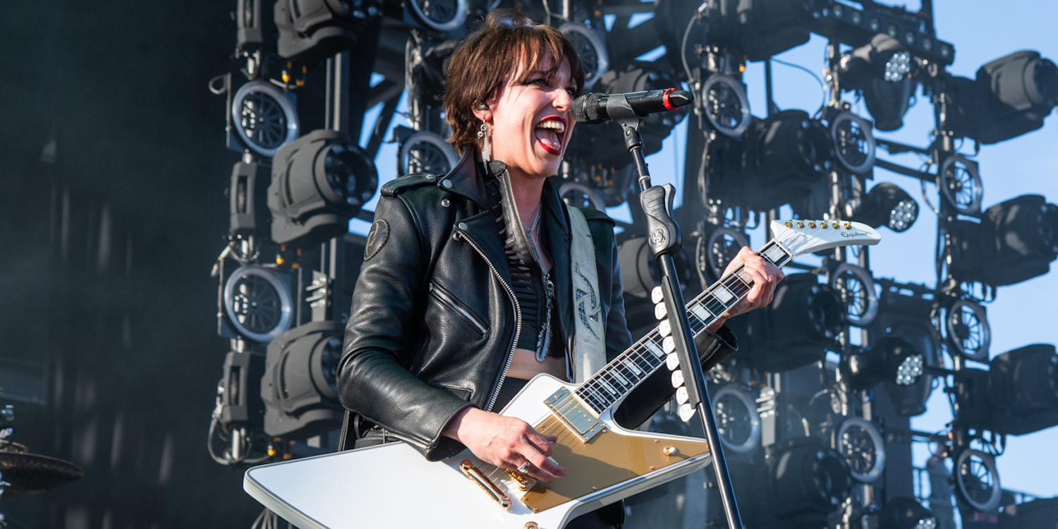 Halestorm on Vicious, Rock Demographics, and Lzzy's