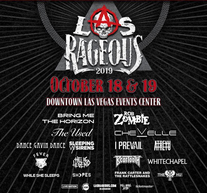 Las Rageous 2019 poster