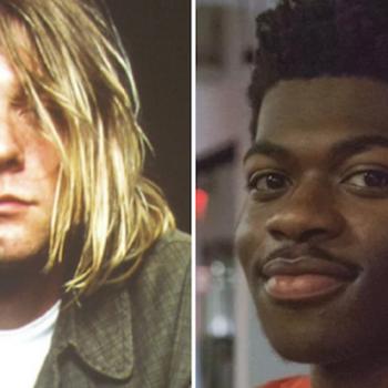 Lil Nas X Kurt Cobain Nirvana Panini new song stream