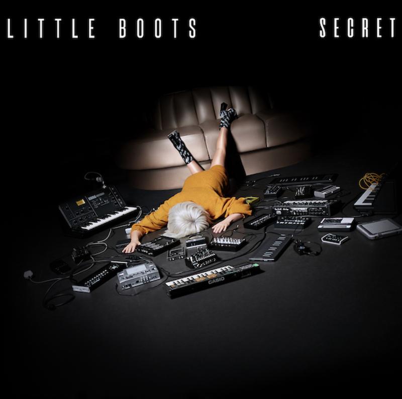 Little Boots - Secret single cover artwork flauntyourwealth