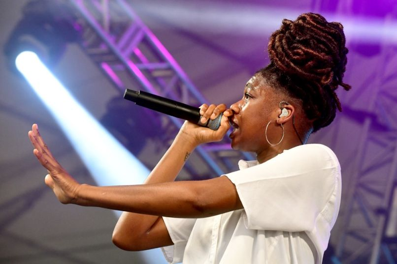 Little Simz at Bonnaroo 2019