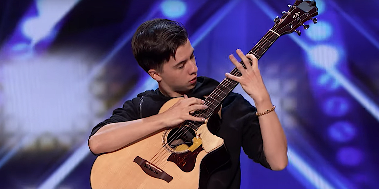 America's Got Talent contestant mashes up Beethoven and System of a Down on guitar: Watch