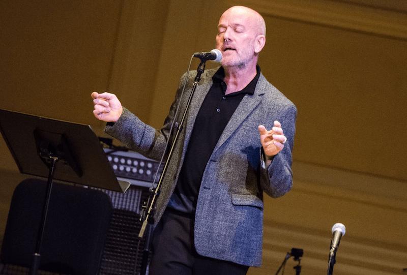 Michael Stipe 18 songs solo project r.e.m.