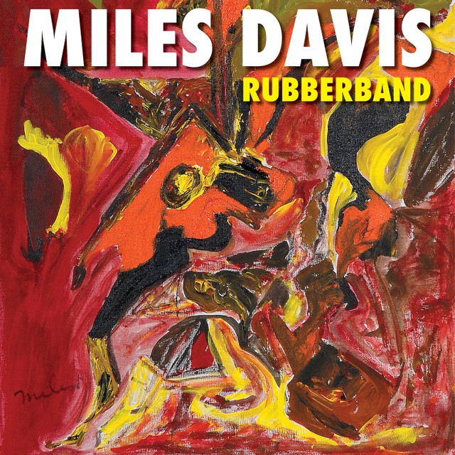 Album cover for Miles Davis' Rubberband