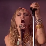 Miley Cyrus at Glastonbury 2019