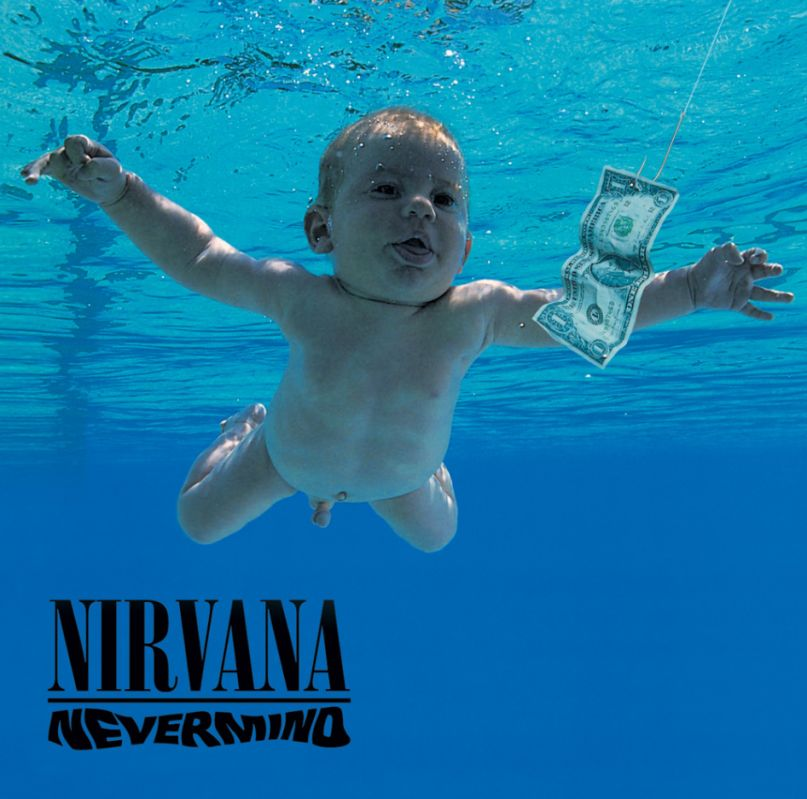 Nirvana's artwork for Nevermind