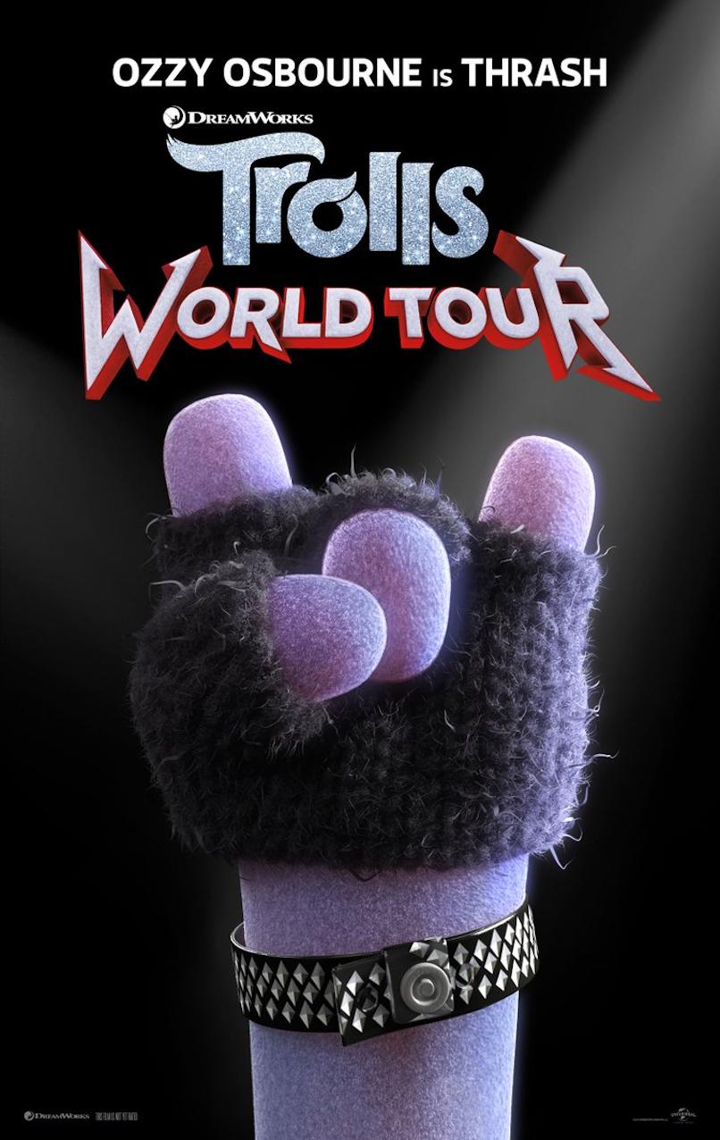 Ozzy Osbourne Trolls Poster