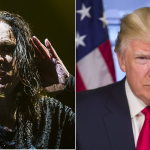 Ozzy Osbourne and Donald Trump