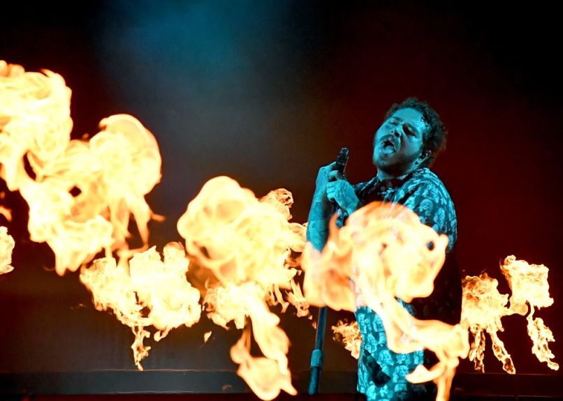 Post Malone at Bonnaroo 2019
