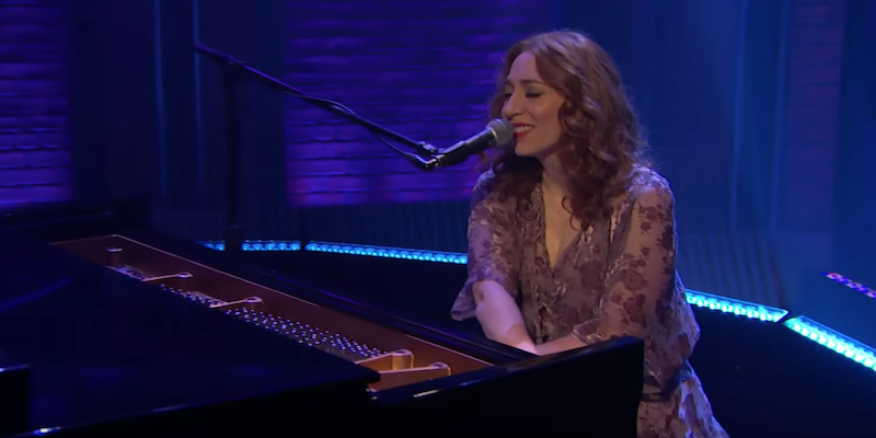 Regina Spektor Loveology Late Night with Seth Meyers Broadway