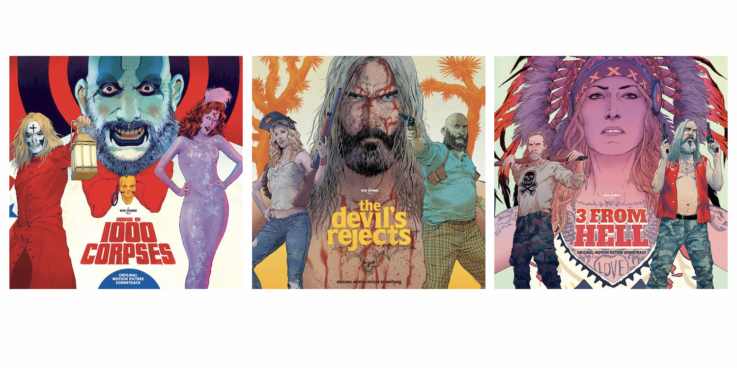 Rob Zombie announces film trilogy soundtrack vinyl releases, shares 3 From Hell tracks: Stream