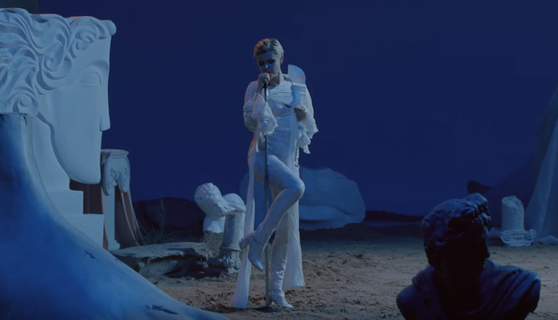 "Robyn works the mic stand in her ""Ever Again"" video: Watch"