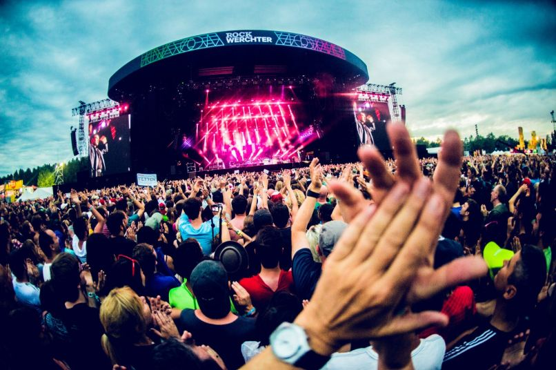 Rock Werchter, photo by Joris Bulckens