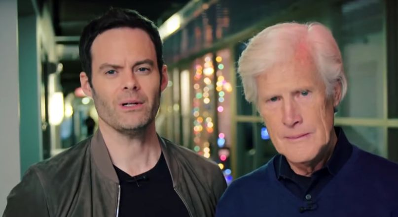 Bill Hader and Keith Morrison for Today