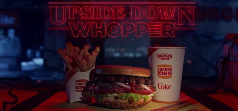 Burger King x Stranger Things