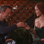 Seth Meyers and Rihanna go day drinking