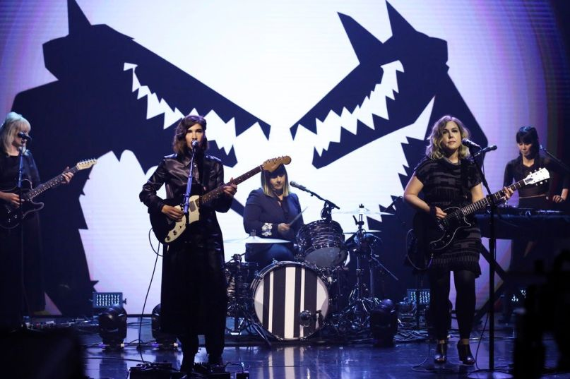 Sleater-Kinney on The Tonight Show
