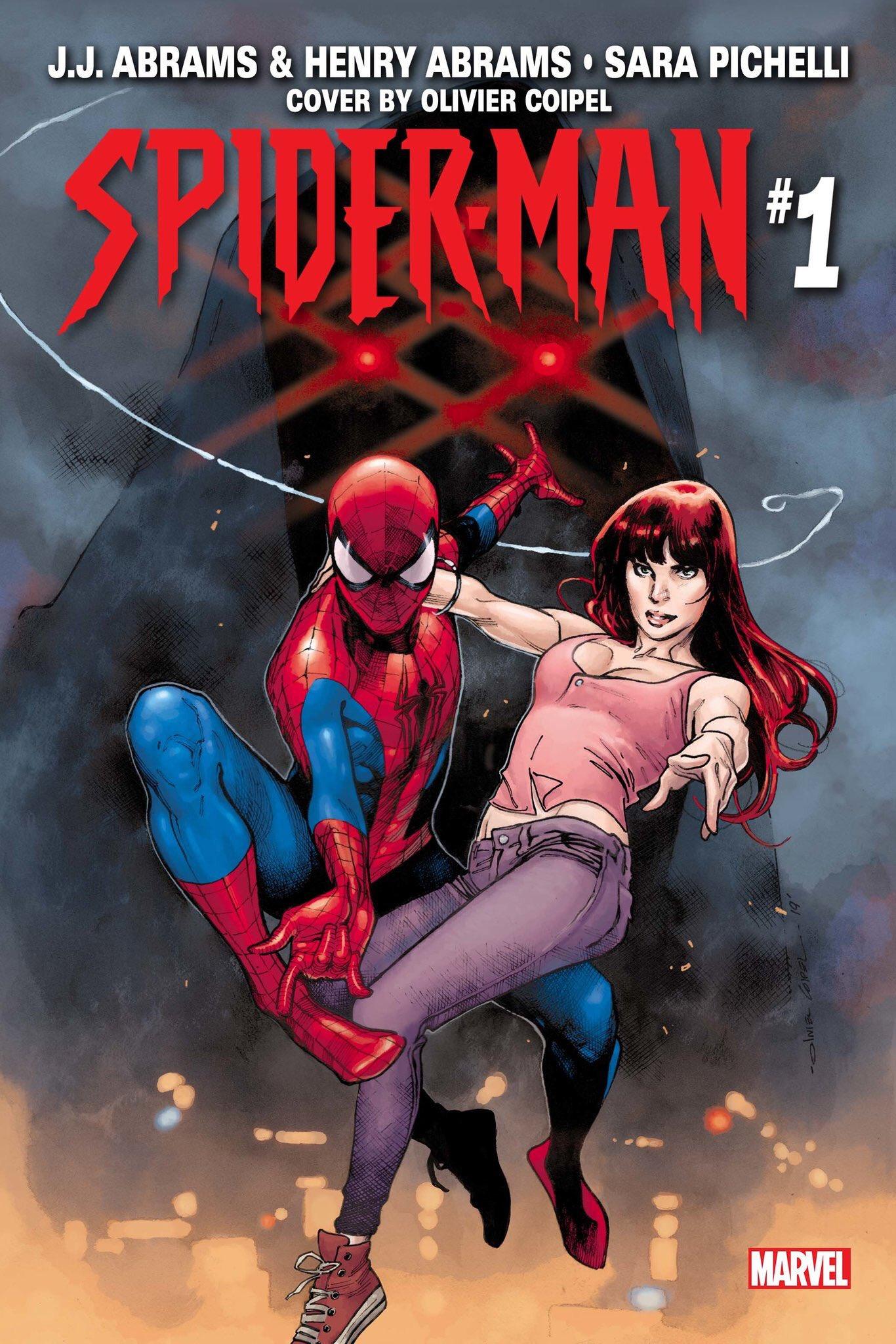 Spider-Man JJ Abrams Henry Abrams cover
