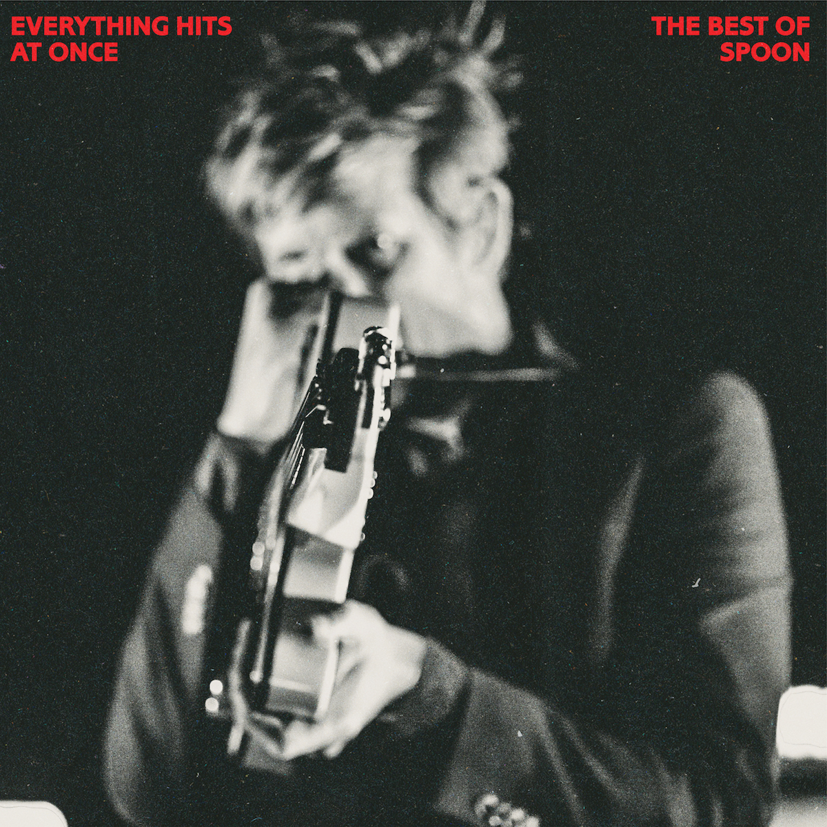 Spoon Everything Hits At once artwork cover physical