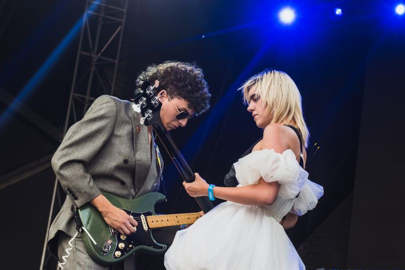 Sunflower Bean Governors Ball 2019 Ben Kaye