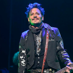 The Hollywood Vampires' Johnny Depp