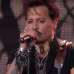 "The Hollywood Vampires perform ""Heroes"" on Kimmel"