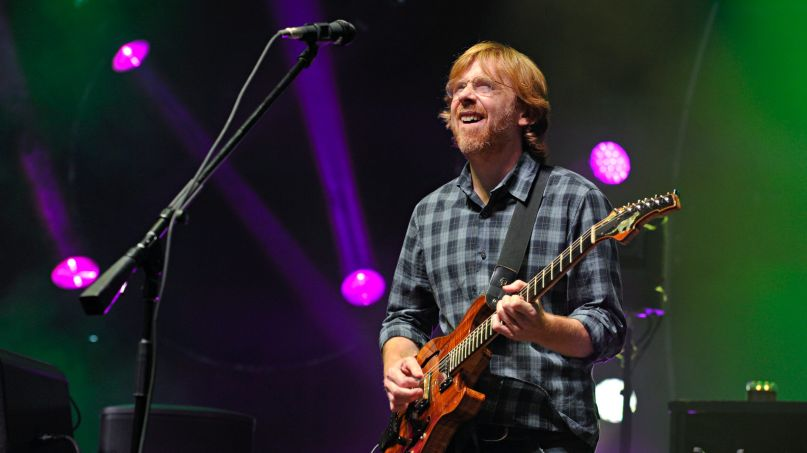 Trey Anastasio, photo by Amy Harris-Invision-AP