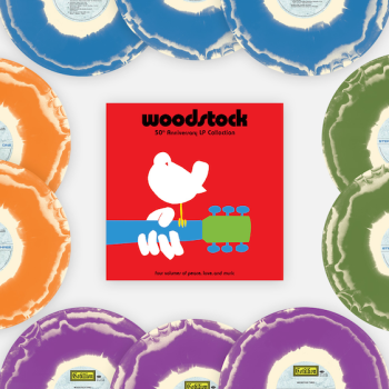Woodstock 50th Anniversary LP Collection Vinyl Me, Please Giveaway Win Tie-Dyed Records