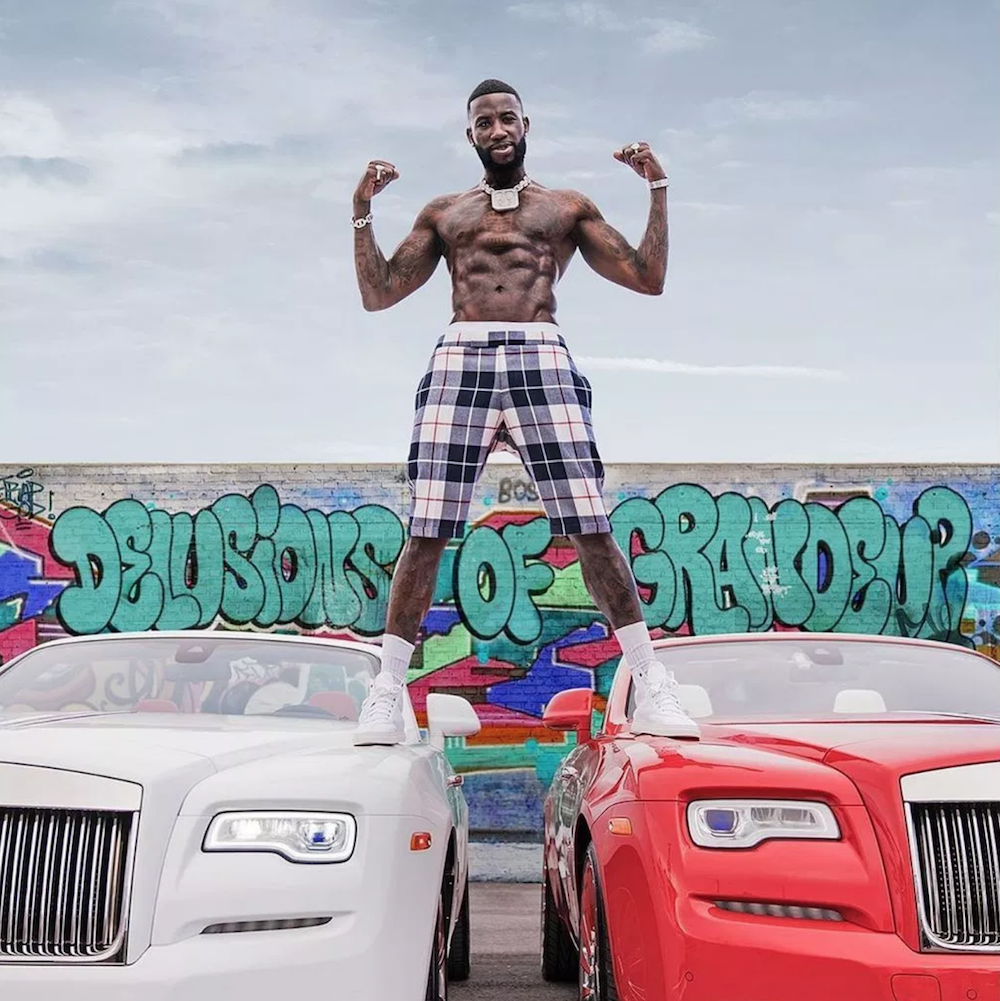 gucci mane delusions grandeur artwork cover album Gucci Mane unveils new album Delusions of Grandeur: Stream