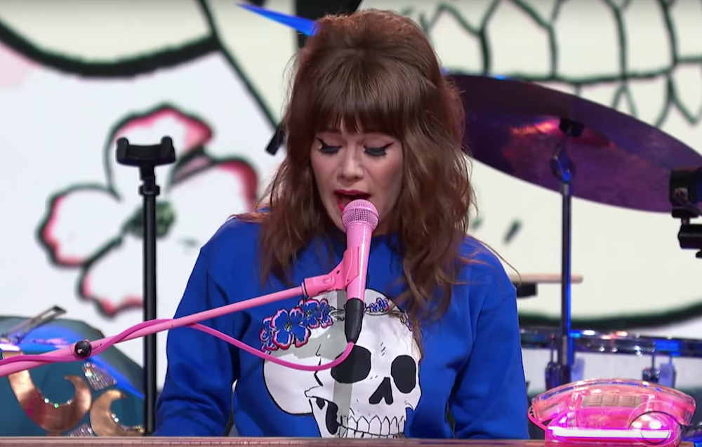 """Jenny Lewis announces new tour dates, performs """"Wasted Youth"""" on Colbert: Watch"""