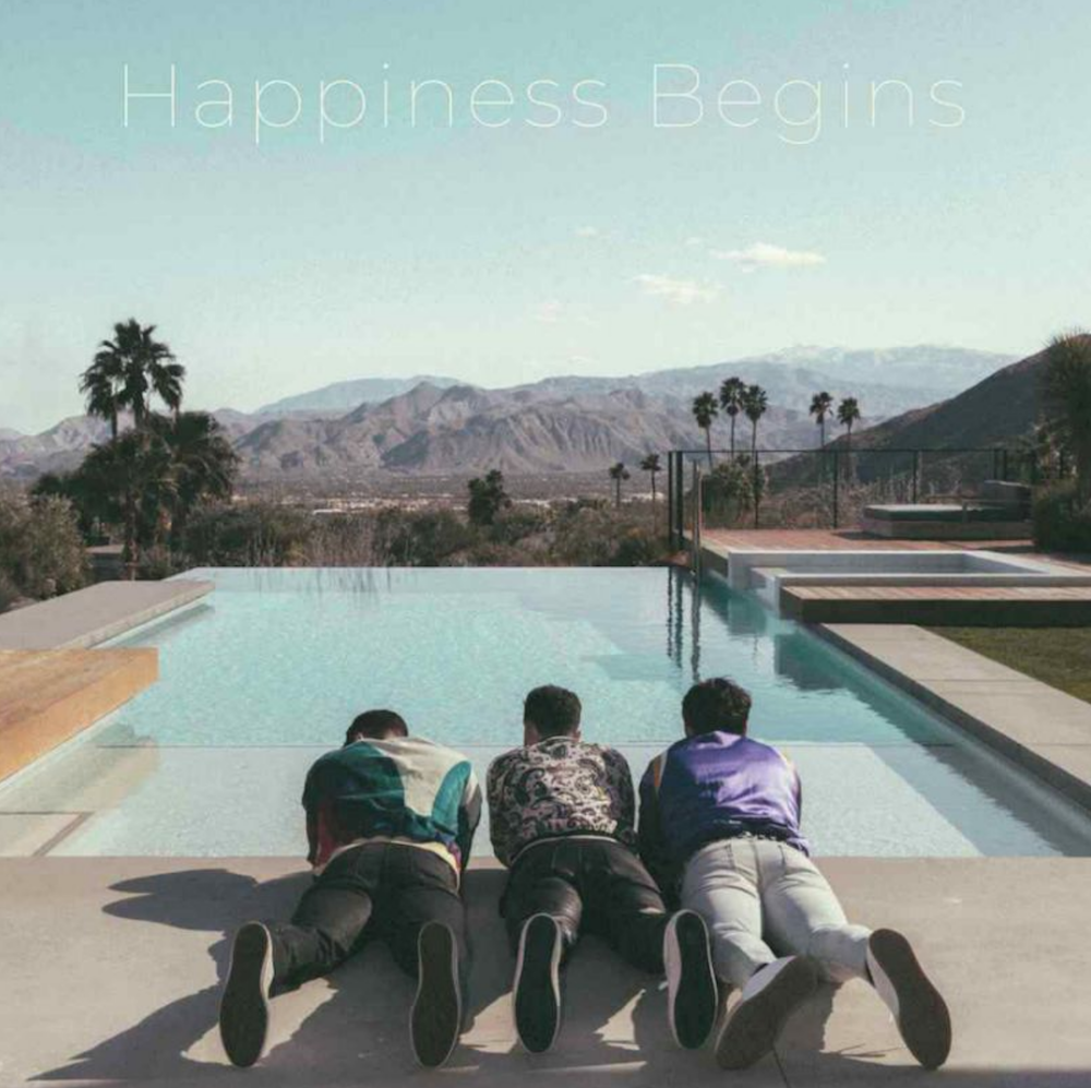 jonas brothers happiness begins album artwork stream release The Jonas Brothers reveal reunion album Happiness Begins: Stream