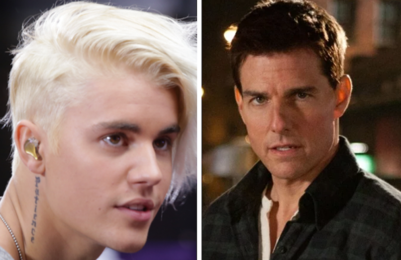 justin bieber tom cruise fight challenge ufc mma twitter celebrity news