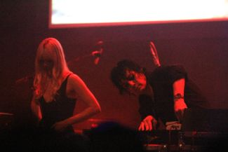 Chromatics at Chicago's Park West, photo by Heather Kaplan
