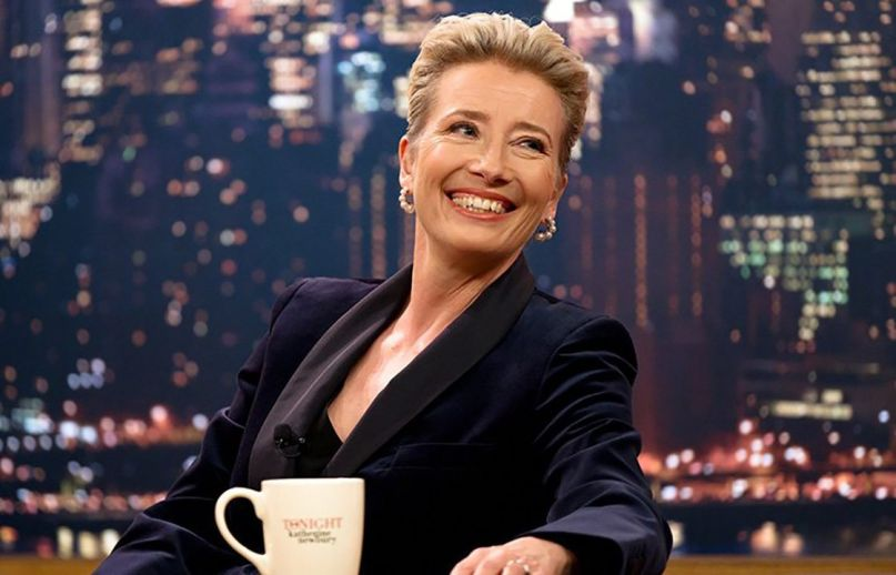 late night film emma thompson mindy kaling