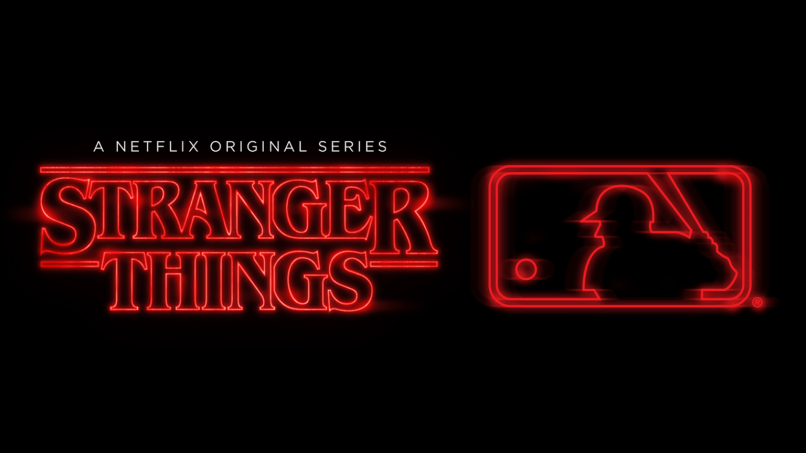 MLB x Stranger Things