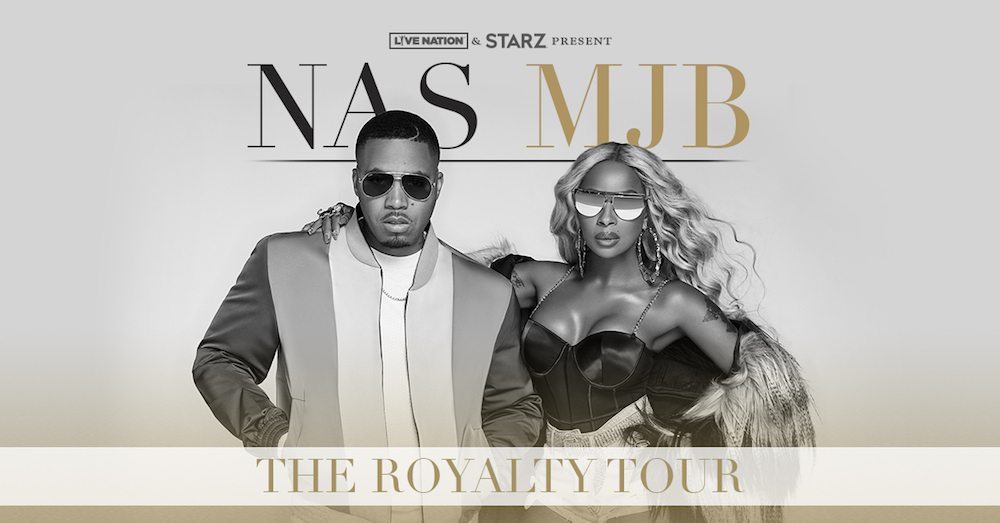 nas blige royalty tour dates tickets Mary J. Blige and Nas announce new Royalty Tour dates