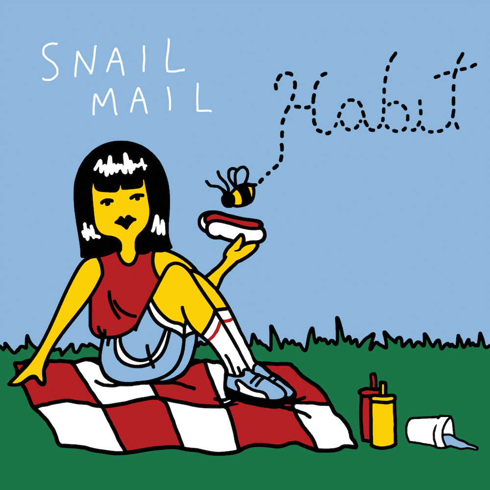 snail mail habit reissue artwork Snail Mail reissues debut Habit EP: Stream