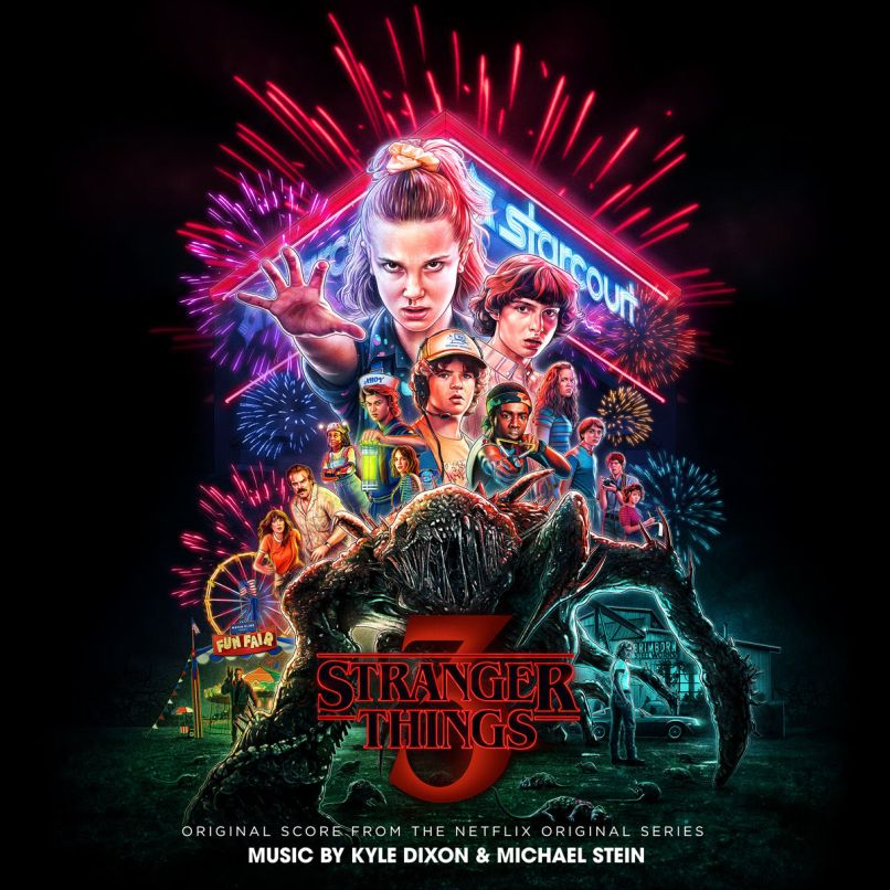 Stranger Things 3 Original Score Cover Artwork