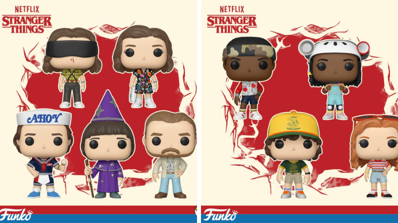 Stranger Things 3 x Funko