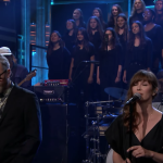 "the national ""oblivions"" tonight show fallon brooklyn youth chorus performance indie rock"