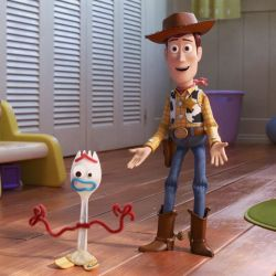 toy story 4 pixar disney movie woody forky